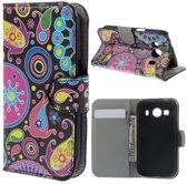 Meteor wallet hoesje Samsung Galaxy Ace 4 G357FZ