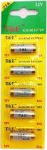 Strip 5 Stuks 23A 12 Volt Batterijen