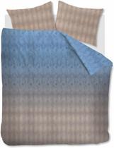Beddinghouse Points and Lines - Dekbedovertrek - Eenpersoons - 140x200/220 cm + 1 kussensloop 60x70 cm - Blue