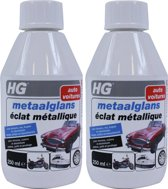 HG Metaalglans - 250 ml - 2 Stuks !
