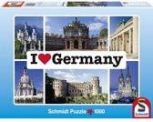 Schmidt puzzel I love Germany 1000 stukjes