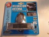 Antenne Decoratie op zonne-energie - 4 x Led
