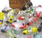 Glaskralen / kralen mix kleur ca. 1000 gram