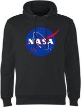 Hoodie sweater   Nasa klassieke Insignia logo   zwart   Maat XXL