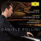 Chopin: Etudes Op.10/Scriabin: Late