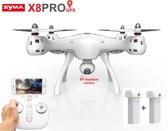 Syma X8 Pro drone met GPS - FPV live Draaibaar camera + extra accu