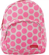 Bakker Made with Love - Rugzak mini Canvas Capsule - Big Dots Pink Fluo