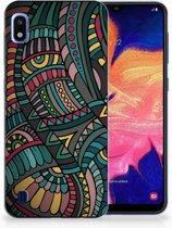 Samsung Galaxy A10 TPU Hoesje Design Aztec