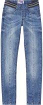 Vingino Meisjes Jeans - Mid Blue Wash - Maat 104