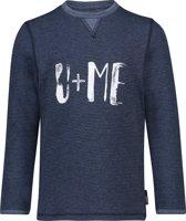 Noppies Jongens T-shirt Vinn - Blue Denim - Maat 122