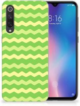 TPU bumper Xiaomi Mi 9 SE Waves Green