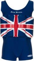 Beverly Kids UV drijfpakje Kinderen Great Britain - Blauw - Maat 92
