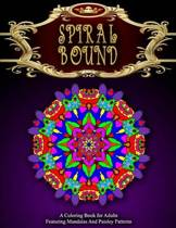 Spiral Bound Mandala Coloring Book - Vol.3