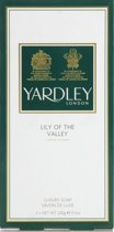 Yardley Lily of the Valley - 3 x 100g - Luxe Zeep