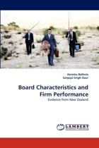 Board Characteristics and Firm Performance