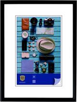 Fotolijst - Henzo - Napoli - Fotomaat 10x15 - Zwart