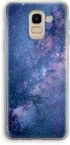 Samsung Galaxy J6 (2018) Transparant Hoesje (Soft) - Nebula