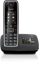 Gigaset C530A - Single DECT telefoon - Antwoordapparaat - Zwart