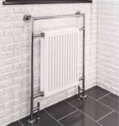 Eastbrook Twyver klassiek handdoekradiator 952 x 685 chroom
