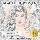 Adult Coloring Book (Beautiful Women)