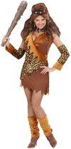 Holbewoner & Prehistorie Kostuum | Grotbewoonster Luxe Captain Cavewoman Kostuum Vrouw | Large | Carnaval kostuum | Verkleedkleding