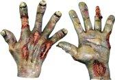 Verbrande handen voor volwassenen Halloween - Verkleedattribuut - One size