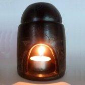 Olieverdamper/Geurbrander  - Zwart