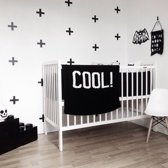 Muursticker kruisjes / plusjes babykamer / kinderkamer decoratie / Stickerkamer
