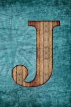 Monogrammed Notebook - J