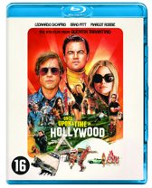 DVD cover van Once Upon A Time In Hollywood (Blu-ray)