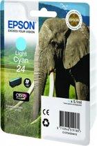 Epson 24 - Inktcartridge / Licht Cyaan