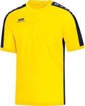 Jako - T-Shirt Striker - citroen/zwart - Maat XXL
