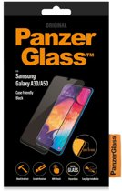 PanzerGlass Case Friendly Screenprotector voor de Samsung Galaxy A30 / A50 - Zwart