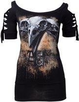 Alchemy - A Murdered Of Crows Top - XL