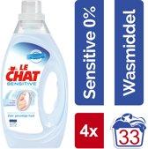 Le Chat Gel Sensitive 0% Wasmiddel - Halfjaarbox - 132 wasbeurten