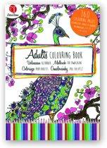 Kleurboek voor volwassenen 160 pagina's