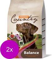 Fokker country balance hondenvoer 2x 15 kg