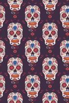 Day Of The Dead Pattern Sugar Skull Santa Muerte 16