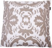 In The Mood Vintage Ikat - Sierkussen - 50x50 cm - Kiezel