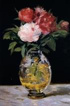 Bouquet of Flowers by Edouard Manet - 1882