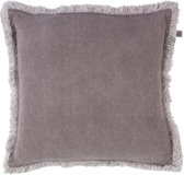 Dutch Decor Kussenhoes Burto 45x45 cm taupe