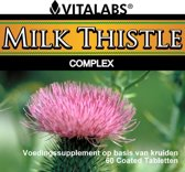 VitaTabs Milk Thistle Complex - 450 mg - 60 tabletten - Voedingssupplementen
