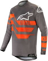 Alpinestars Crossshirt Racer Flagship Mid Gray/Anthracite/Fluor Orange-S