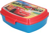 Broodtrommel Disney Cars 16x12x6cm – Rood Blauw | Lunchbox voor Kinderen | Lunch Trommel | Lunchboxen