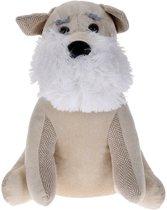 Deurstopper Hond (wit/crème)