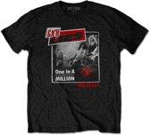 Guns n Roses Heren Tshirt -XL- One In A Million Zwart