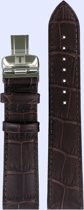 Horlogeband Tissot T0634281603800A / T600031946 Leder Lichtbruin 20mm
