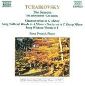 Tchaikovsky: The Seasons, etc / Ilona Prunyi