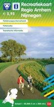 Recreatiekaart regio Arnhem Nijmegen