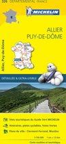 Allier / puy - de - dome 11326 carte ' local ' ( France ) michelin kaart